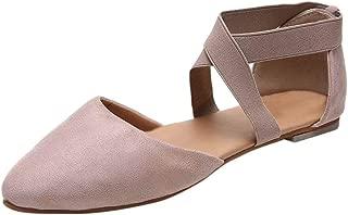 Zapatillas clásicas de Ballet Planas,ZARLLE Transpirable Pointe Zapatos de Ballet Pointe Ballet Zapatillas de Ballet de Danza Baile con Cintas y Toe Pads y Covert Elastic