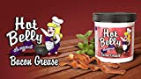 HOT BELLY BACON GREASE 1-11ounce by HOT BELLY used on the KETO AND PALEO diet free pdf cookbook with each order (1 pack)
