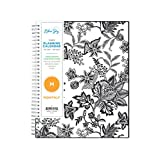 Blue Sky 2021-2022 Academic Year Monthly Planner, 8' x 10', Flexible Cover, Wirebound, Analeis (130613)