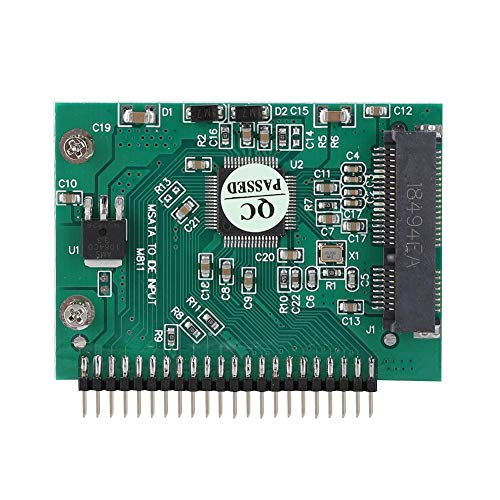PCI-E riserkaart, mSATA PCI-E SSD naar 44-pins adapterconverterkaart voor laptops MIDTablet PC/internetapparaten/krantenkiosk industriële computers/routers/firewalls