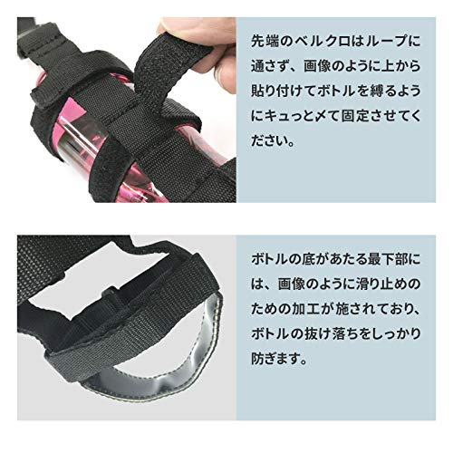 EMZ-JAPAN(エムズジャパン)『ベルクロ開閉式ボトルホルダー』