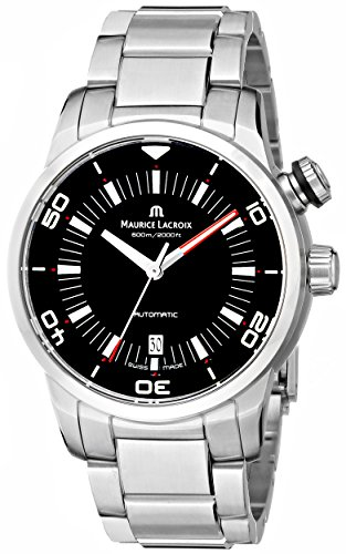 Maurice Lacroix Men's PT6248-SS002-330 'Pontos' Stainless Steel Automatic Watch