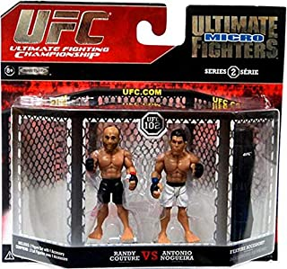 UFC Ultimate Fighting Jakks Pacific Series 2 Micro Figure 2Pack Randy Couture vs. Antonio Rodrigo Minotauro Nogueira