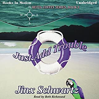 Just Add Trouble audiobook cover art