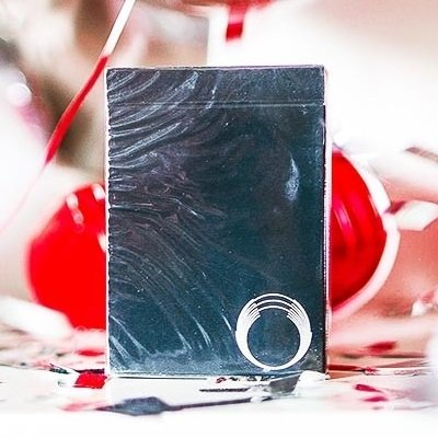 Ellusionist Saturn Hyperspace Playing Cards (Black) Very Limited Edition Deck