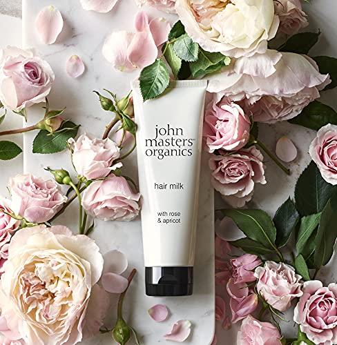 John Masters Organics Leche para el Cabello con Rosa y Albaricoque 118 ml