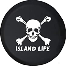 Spare Tire Cover Pirate Life Skull & Crossbones Saltwater Edition fits SUV or Camper RV Accessories 32 Inch