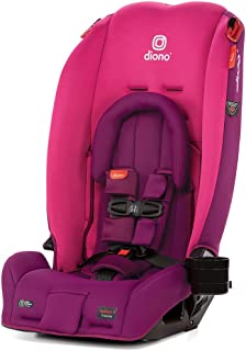 Diono 2020 Radian 3RX, 3-in-1 Convertible, Infant Insert, 10 Years 1 Car Seat, Fits 3 Across, Slim Fit Design, Pink Blossom