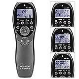 Neewer Télécommande Filaire de Déclencheur à Distance Ecran LCD YP-880/N3 pour...