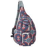 KAVU Original Rope Sling Bag Polyester Crossbody Backpack - Mojave