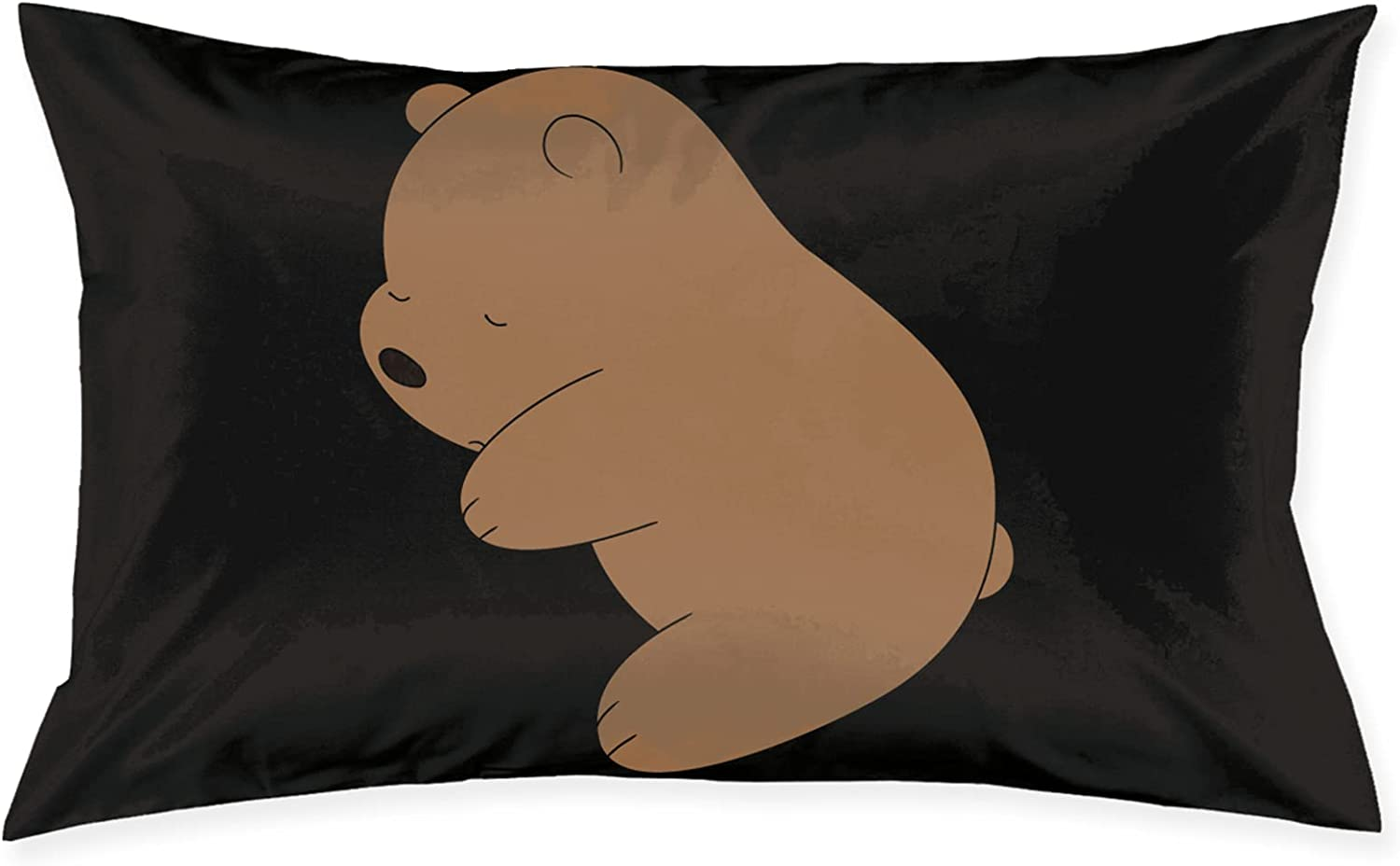 AMCEUFPSM We Long Beach Mall Bare Bears Grizzly Pillowcase Outlet SALE Suite Ro Cushion Bear