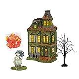 Department 56 Halloween Village Hazel's Haunted House Building Set 6004821 New
