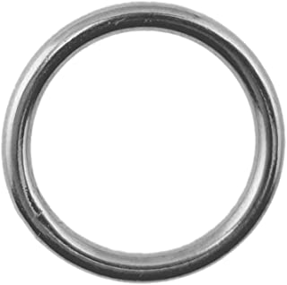 Stainless Steel 316 Round Ring Welded 3/8