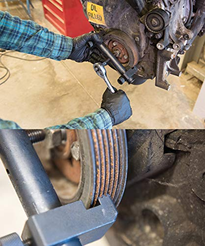 Silverline 256243 - Extractor de poleas acanaladas (35-165 mm)