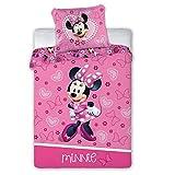 Biancheria da letto per bambini Minnie Mouse 178 100 x 135 cm + 40 x 60 cm