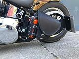 Diablo Black Schwingentasche Satteltasche Harley Davidson Softail Fatboy Heritage Starrahmen Bobber...