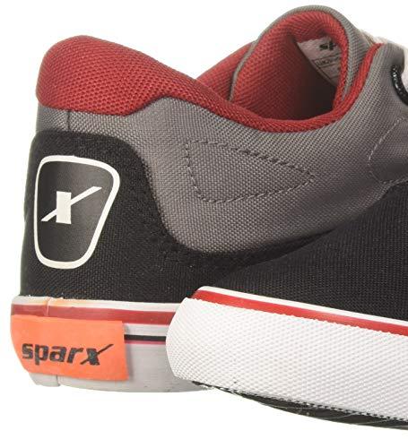 Product Image 3: Sparx Men's Black Grey Sneakers