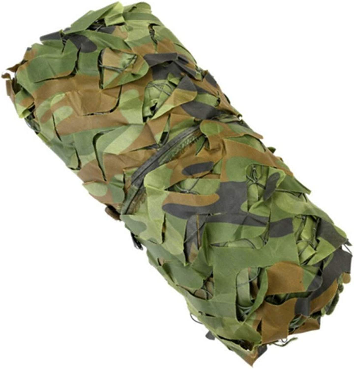 XEWNEG Jungle Camouflage Net, Waterproof and Lightweight Oxford Sunshade, Used for Blinds Camping Shooting Party Decoration