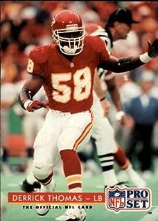 1992 Pro Set Football Card #204 Derrick Thomas