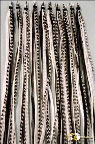 '8 Big Pack Neuf Black & White longue pour cheveux bruns