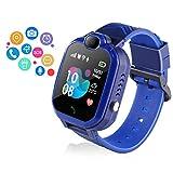 Kids smartwatch,Smart GPS Tracker Watch for Girls Boys IP67 Waterproof 1.44 inch Touch