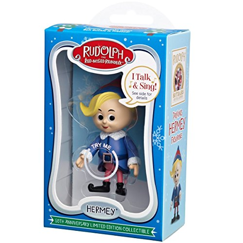 Rudolph the Red-Nosed Reindeer 50th Anniversary Limited Edition Collectible- Hermey by Rudolph the Red Nosed Reindeer