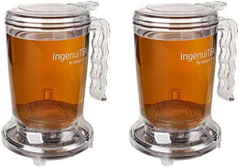Adagio Teas 16 oz ingenuiTEA Bottom Dispensing Teapot 2 Pack product image