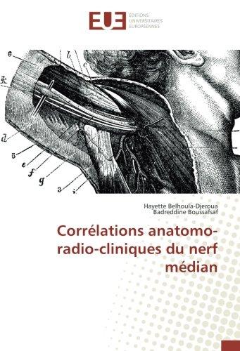Correlations anatomo-radio-cliniques du nerf median (OMN.UNIV.EUROP.)