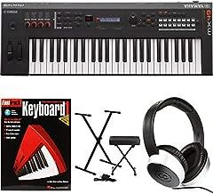 Yamaha MX49 Essential Keyboard Bundle - Black