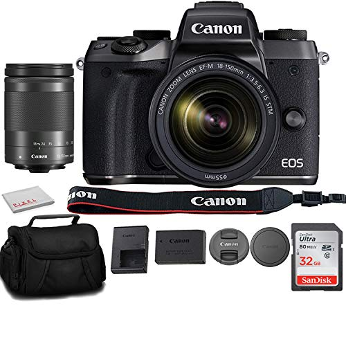 Canon EOS M5 Mirrorless Digital Camera with Canon...