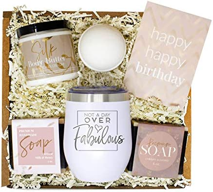Birthday Gifts for Women Best Relaxing Spa Gift Box Basket for Wife Mom Sister Girlfriend Best product image