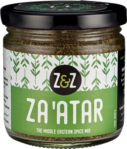 Za'atar by Z&Z (Zaatar/Zatar/Zahtar) – Eat. Good. Za'atar, 3.25oz – Middle Eastern Spice Mix you can Snack on