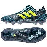 adidas Kids Boys Nemeziz 17+ 360 Agility Firm Ground Soccer Cleats - Blue - Size 5.5 M
