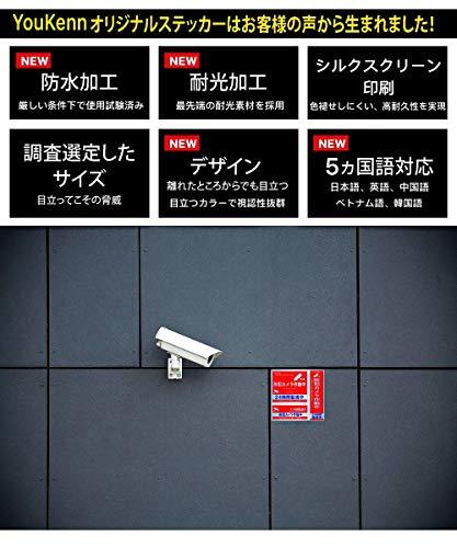 YouKenn『防犯用ダミーカメラソーラーパネル搭載』