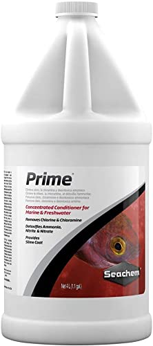 Seachem Prime Fresh and Saltwater Conditioner - Chemical Remover and Detoxifier