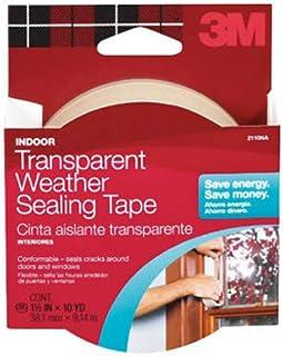 3M 2110NA Interior transparente sellado para el clima, 1.5-