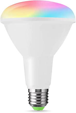 LOHAS WIFI R95 10W E27 Colour LED Smart Bulb, Works with Google Home Amazon Alexa, Colour Changing, 80W Equivalent, Controlled by a Smartphone