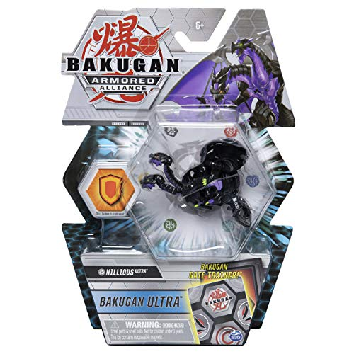 BAKUGAN Ultra Season 2 Armored Alliance Collectible Action Figure and Trading Card