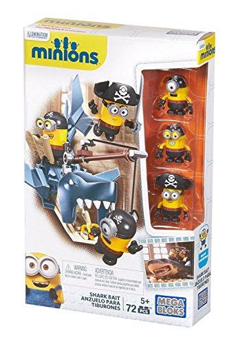 Mega Bloks Minions Shark Bait Figure Pack