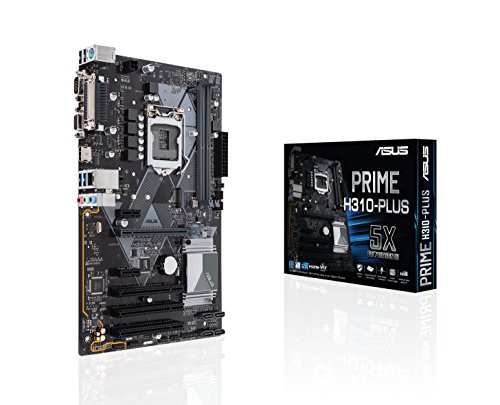 Asus Intel H310 ATX - Placa base Aura Sync RGB header