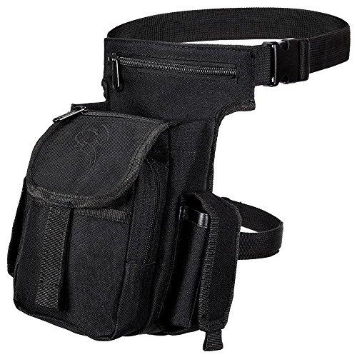 Black Snake® Multi Pack Damen Herren Outdoor Tasche Backpack Bauchtasche Hüfttasche - Schwarz
