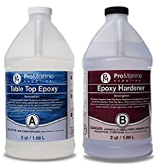 Designed for Table Tops, Bars, Wood finishes, See-Through Encapsulations, Art work, and other applications Self Leveling and High Gloss U.V. Resistant Formula Produces a Tough, High Gloss, Water Resistant Coating Eliminates Craters, Crawling and Fish...