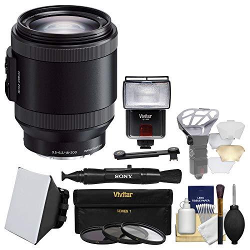 Sony Alpha E-Mount 18-200mm f/3.5-6.3 OSS PZ Zoom Lens