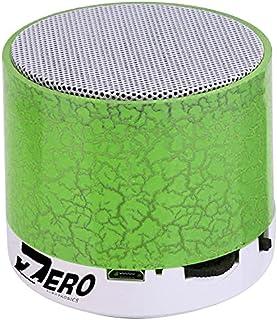 Zero Z101 Smart Colorful LED Light Mini Wireless Bluetooth Speaker Portable Stereo Support USB / TF / SD Card - Green