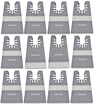 Oscillating tool scraper blades set include oscillating rigid scraper blade 10pcs flexible multitool scraper blades 2pcs universal fit oscillating multitool scraper blades for carpet tile adhesives