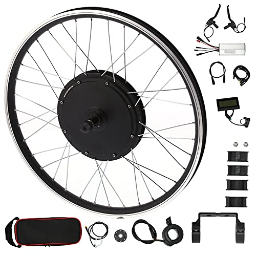 JADPES Kit de conversión de Bicicleta eléctrica, Kit de conversión de Motor de Rueda de Gran Capacidad de Carga para Bicicleta eléctrica de Bricolaje para Accesorio de Bicicleta eléctrica