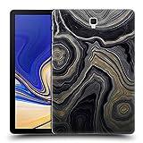 Head Case Designs Oficial Monika Strigel Oro 1 Mármol Precioso Carcasa rígida Compatible con Galaxy Tab S4 10.5 (2018)