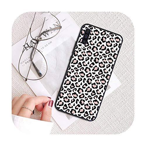 Phonecase - Carcasa para Samsung A20, A30, 30S, A40, A7, 2018, J2, J7, Prime J4, Plus, S5, Note 9, 10 Plus-A6, para Samsung Note10, diseño de leopardo