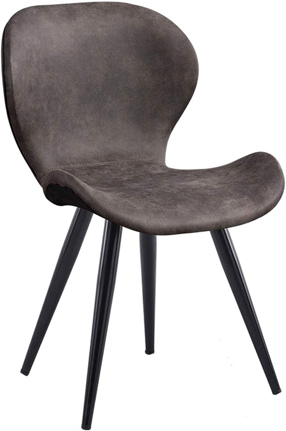 Office Chair Dining Chairs Wooden Seat Barstools Breakfast Stool,Comfortable Backrest Suede Fabric,for Dressing Room Study Room Living Room Dining Room Pub,2 colors