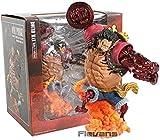 NDYD Anime Carácter Modelo Banabrosto One Piece Monkey D. Luffy Gear 4 Kong Gun PVC Figura Figura Co...